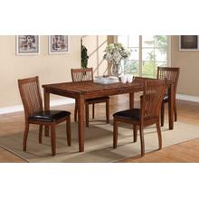 BROADWAY Rectangle 5 Piece Dining Set