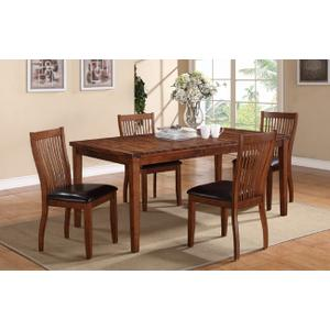 Winners Only - BROADWAY Rectangle 5 Piece Dining Set