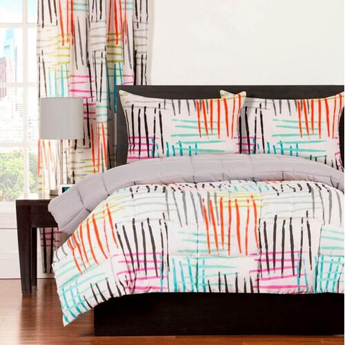 """Stroke of Genius"" Crayola Comforter Sets Twin"