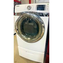 USED - 7.5 cu. ft King-size Capacity Electric Front-Load Dryer (White)  FLDRYE27W-U  Serial #74