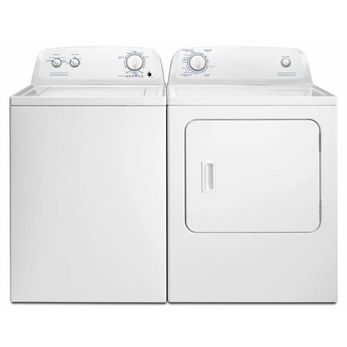 Crosley - Crosley Conservator 3.5CF White Top Load Washer and Crosley Conservator 6.5CF White Electric Dryer  SOLD AS SET ONLY