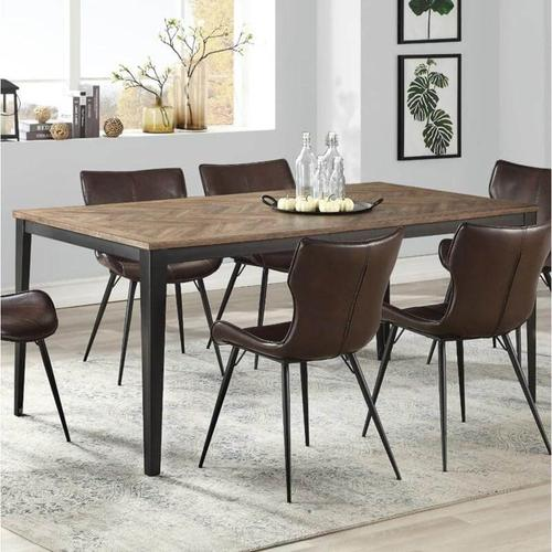 Winners Only - Brown Wood Top Dining Table