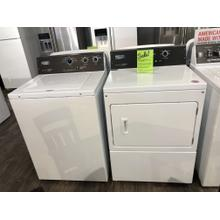 Maytag Commercial 3.5 CF Washer and 7.4 CF Dryer