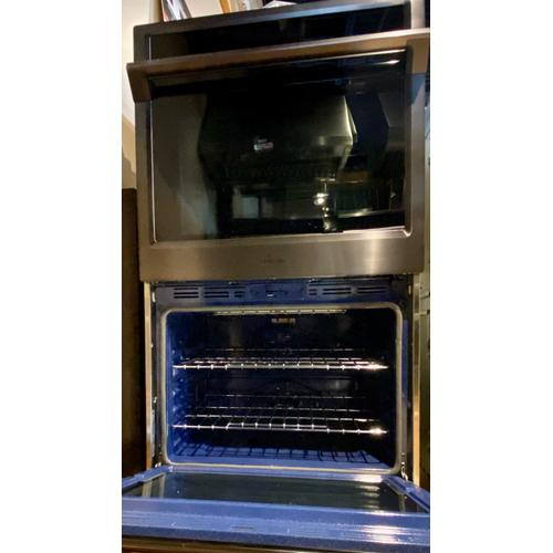 "Samsung NV51K6650DG     30"" Double Wall Oven in Black Stainless Steel"