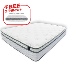 See Details - Buy the KING'S CHOICE Queen Mattress, get 2 BEDGEAR pillows FREE!