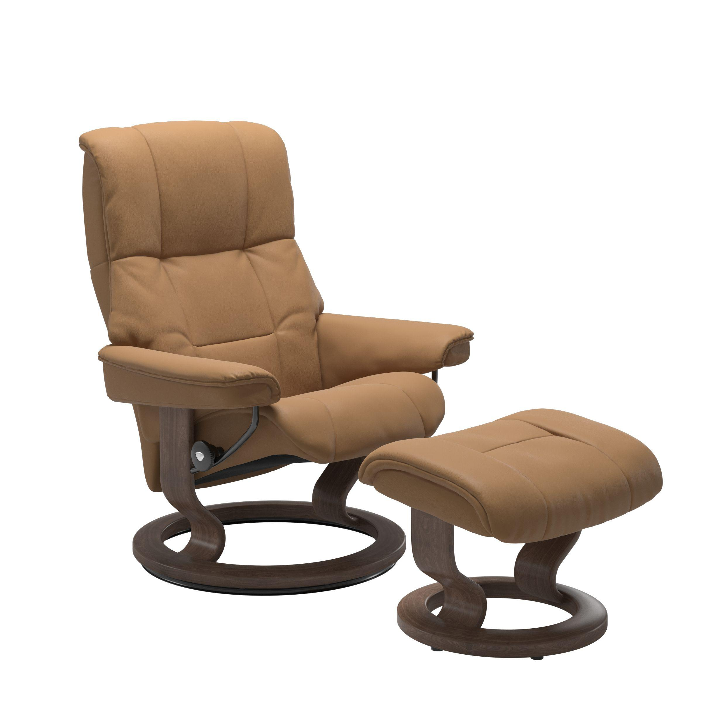 Stressless By EkornesStressless Mayfair Small Classic Base Chair And Ottoman