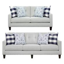 Fusion 2 Piece Set:  Sofa and Loveseat