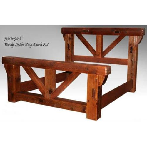 Windy Stables King Ranch Bed