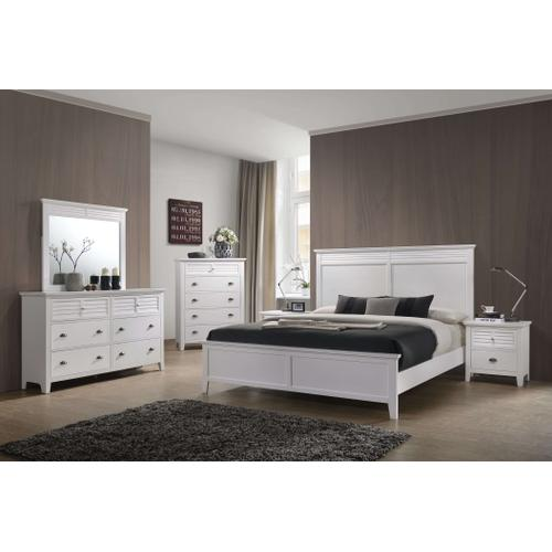 C8313WHITE  Twin, Full, Queen or King Bedroom Group