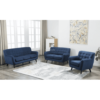 Edie Blue Loveseat