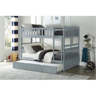 Orion Bunk Bed Full on Full with Trundle