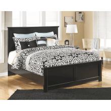 See Details - Maribel-  Black- King Panel Bed