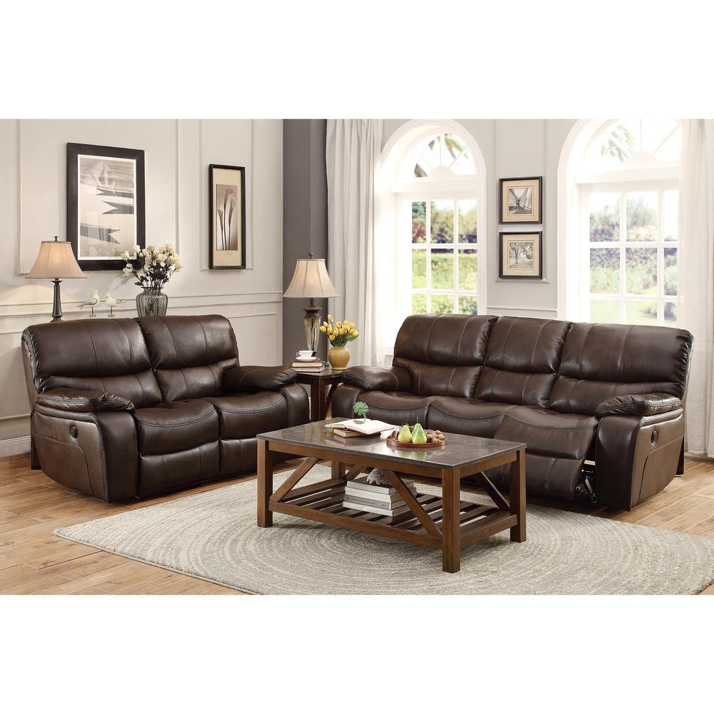 Pecos Power Sofa and Love Seat