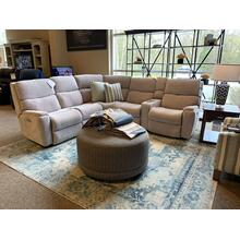 Rio Reclining Sectional w/ Power Headrests