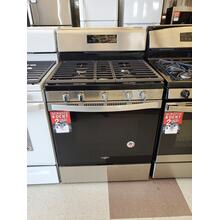 See Details - 5.0 cu. ft. Whirlpool® gas range with center oval burner