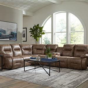Brinley Reclining Sectional