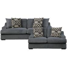 View Product - Sofa and Love Seat Dark Grey