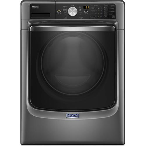 Maytag 4.6CF Chrome Shadow Front Load Washer
