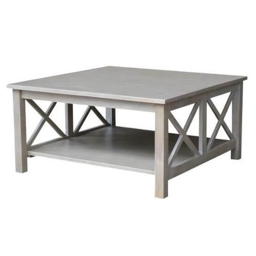 Hampton Square Coffee Table - Grey