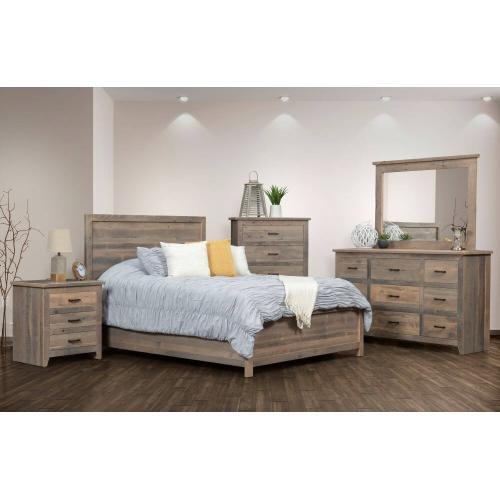Authentic Reclaimed Barnwood Bedroom Set