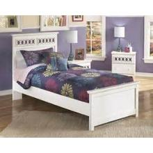 Zayley - White Collection: 3 Piece Twin Bed