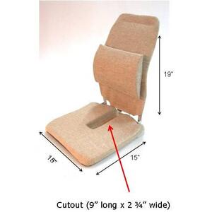 McCarty's SACRO-EASE ® Regular Foam with Tailbone Cut-out