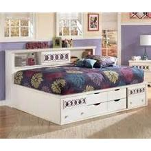 Zayley - White Collection Full Storage Bed