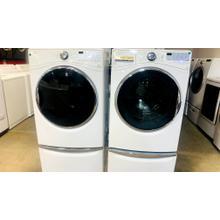 USED 4.1 cu. ft. Front Load Washer and Electric Dryer SET- FLWAS27W-U  SERIAL #124   FLDRYE27W-U  SERIAL #87