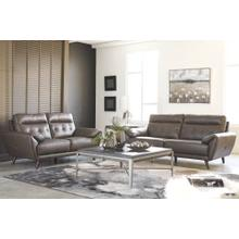 Ashley 346 Sissoko Gray Sofa & Love