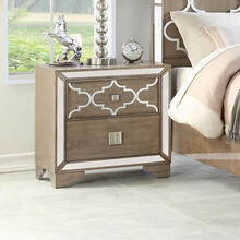 Ivony 2 Drawer Night Stand