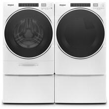 View Product - Whirlpool 4.5 CF Front Load Washer and 7.4 CF Dryer with Pedestals