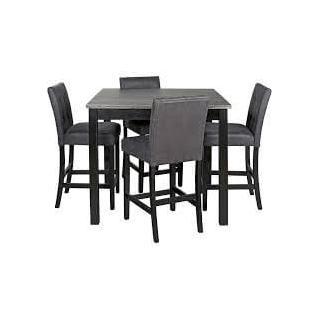 Garvine 5 Piece Counter Height Dining Set
