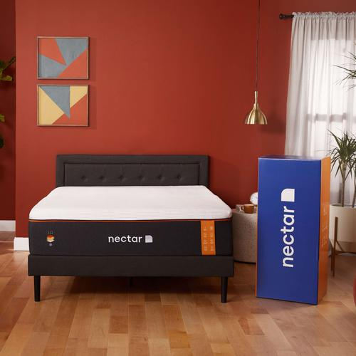 Copper Luxury Firm Non-Quilted Smooth Top Memory Foam Mattress