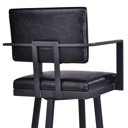 """""""Adrian"""" Swivel Stool with Arms"""