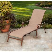 Agio Burgundy Collection Chaise Lounge