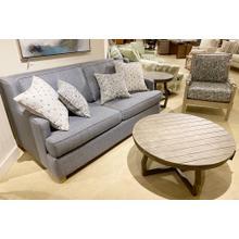 Capris Blue Sofa & Spindle Chair Set