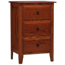 Summit Night Stand Tall 3 Drawer