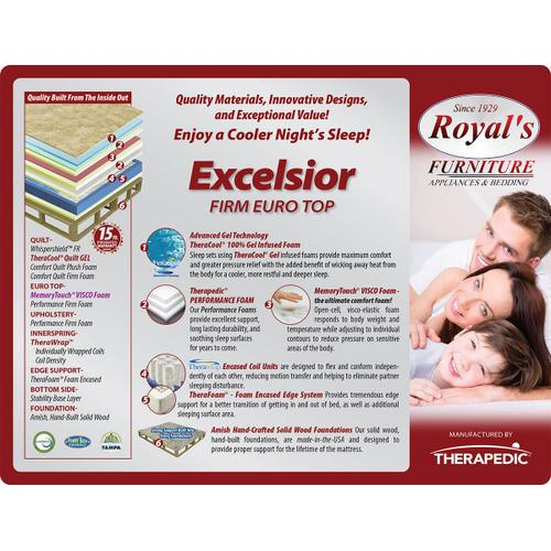 Excelsior Firm Euro Top