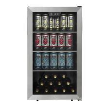 View Product - DANBY® 4.5 CU.FT. STAINLESS FRAME 115 CAN BEVERAGE CENTER™