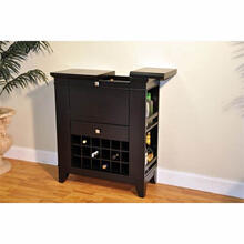 Espresso Spirit Cabinet