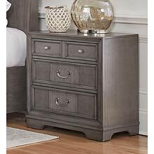 LIFESTYLE C8472-025 Lorrie Weather Greywash - Night Stand