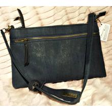 Dark blue small shoulder bag