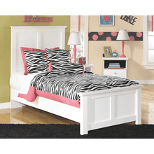 Bostwick Shoals- White- Twin Panel Bed