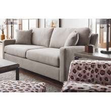 Coronado TRANSITIONAL SOFA WITH TRACK ARMS in Gold Rush Wicker     (610-685-D176262,40145)