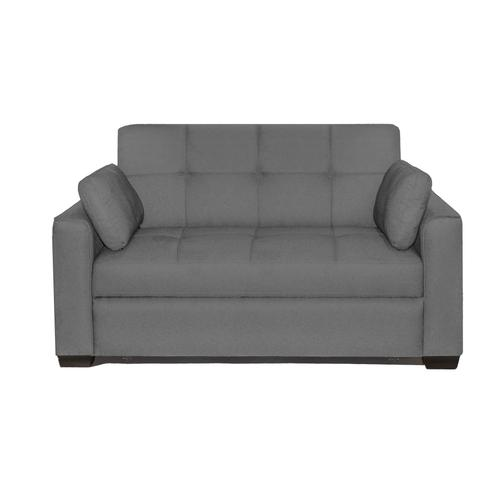Newport Convertible Sofa Grey Full