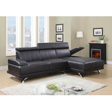 ULV8 - Chocolate - 2PC Sectional