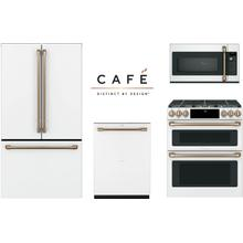Cafe Matte White Kitchen with Double Oven Range