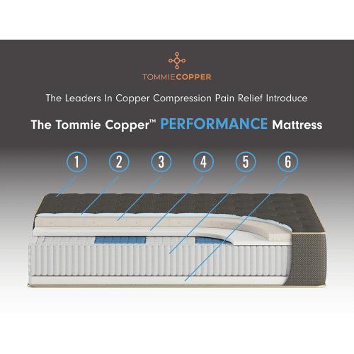 Symbol Mattress - Tommie Copper Performance