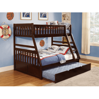 Rowe Bunk Bed Twin on Full with Twin Trundle
