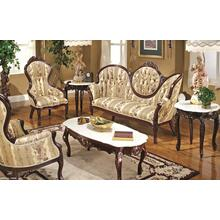 See Details - Victorian 3 piece Group includes Sofa with Ladies Chair & Gentlemen's Chair